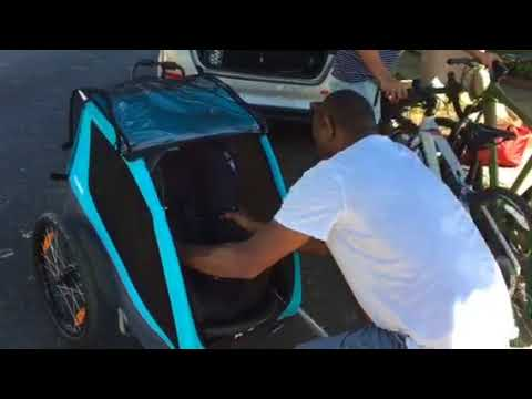 How To Install Carseat In Thule Bike Trailer