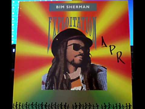 Bim Sherman Exploitation - 1988 RDL Records RDL 1100 - Exploitation LP - DJ APR