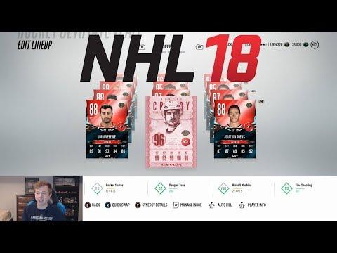 NHL 18 HUT - TEAM BUILD: O CANADA!
