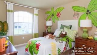16 Fantastic Tropical Child's Room Designs That Will Amaze You