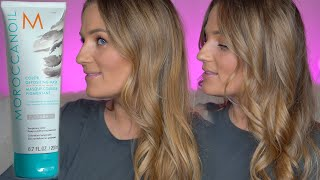 MoroccanOil Color Depositing Hair Mask Before and After