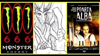 Băutura Monster = 666, Material satanic in scoli, filmul Poarta Alba