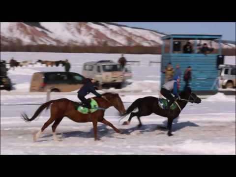 Скачки в с.Кяччи Олекминского района