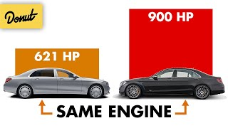 How Brabus Got 279 EXTRA Horsepower out of an Already 600HP V12