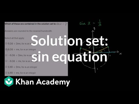 Trigonometric equations and identities | Trigonometry | Math