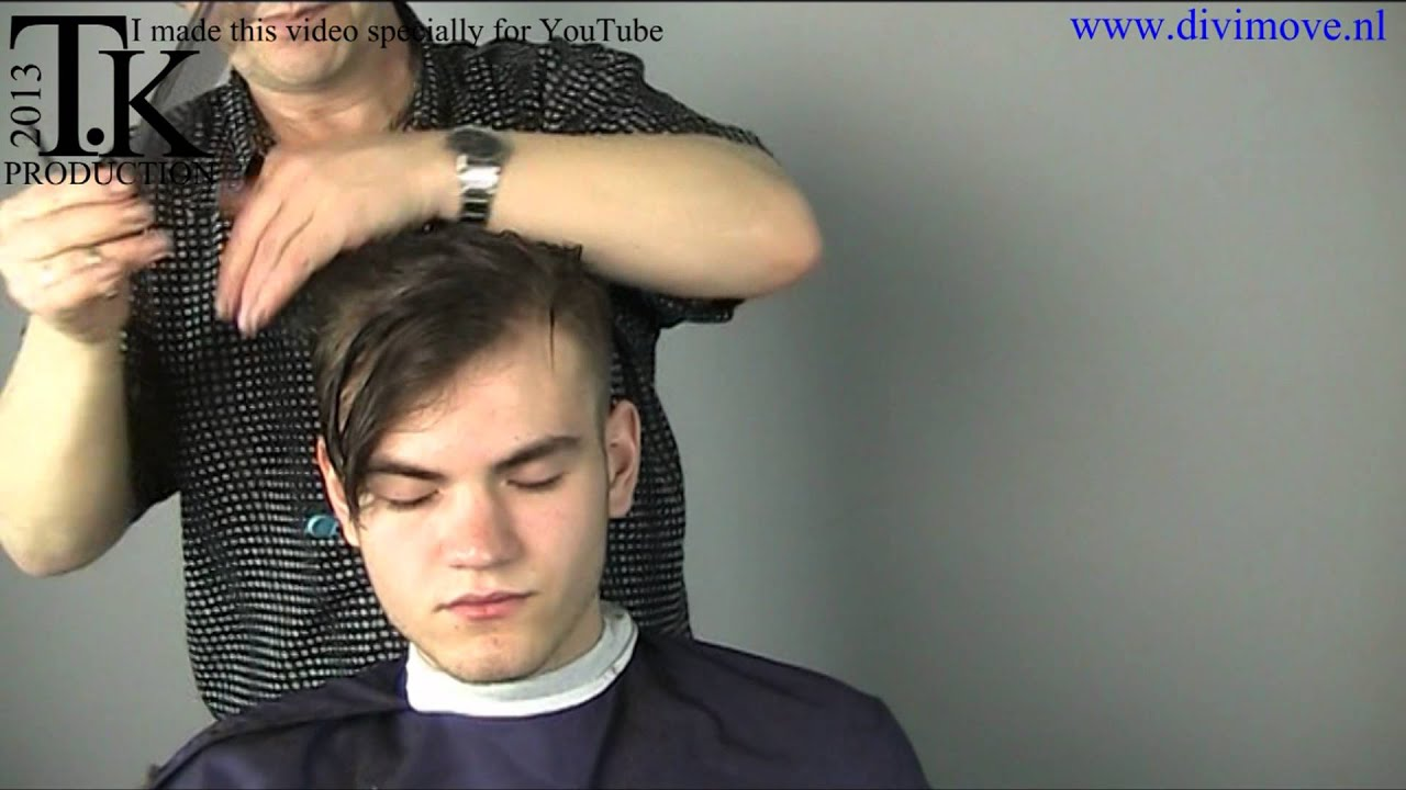unisex hairstyle for mauritsvideo 240 by theo knoop youtube