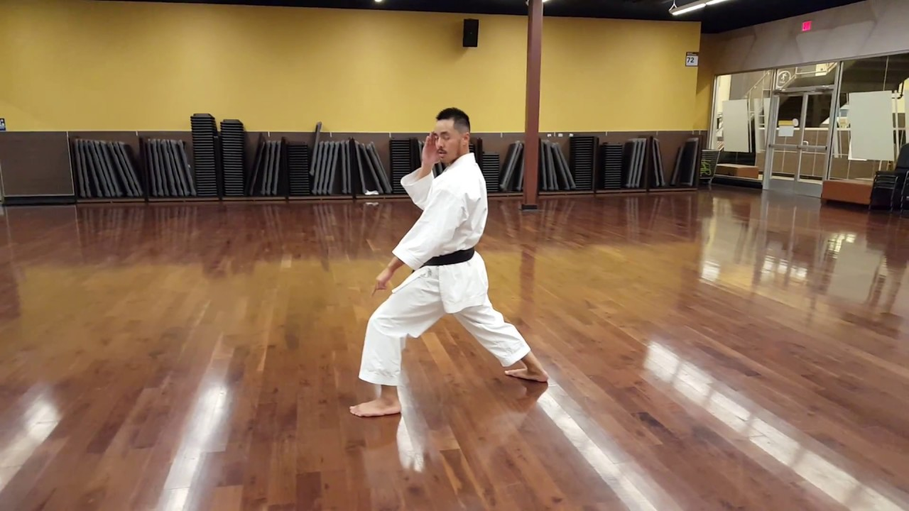 How to do a Horse Stance and Front Stance in Shotokan Karate