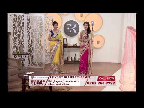EK-2 sarees by Ekta Kapoor