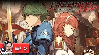 Thieve's Shrine Dungeon - Fire Emblem Echoes: Shadows of Valentia Walkthrough English - Part 5