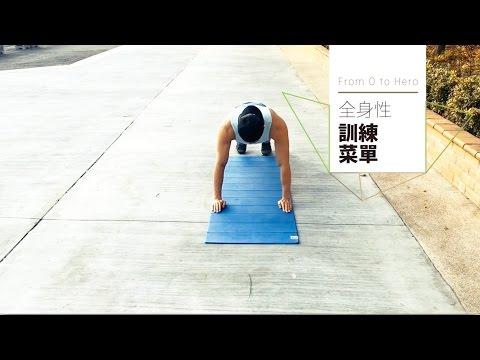 徒手訓練 總複習 全身性間歇運動