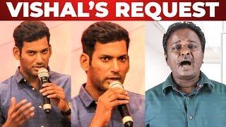 Vishal's Request to Online Reviewers | Sandakozhi 2