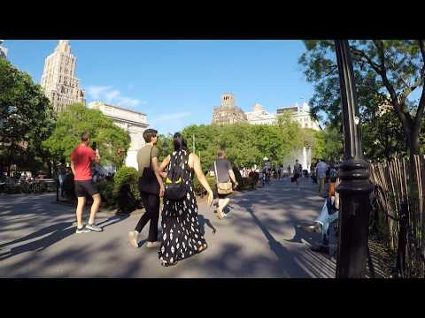slowTV.network NYC On a Different Bench in Washington Square Park