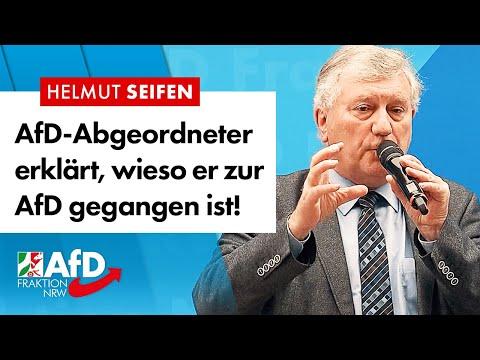 AfD-Abgeordneter erklärt, warum er für die AfD Politik macht! – Helmut Seifen (AfD)