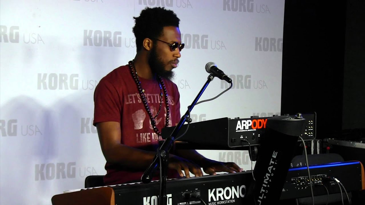 Cory Henry | Giant Steps - (HD) - NEW KORG ARP ODYSSEY DEMO | NAMM