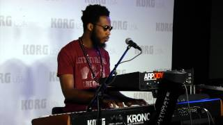 Cory Henry - Giant Steps - (HD) - NEW KORG ARP ODYSSEY DEMO NAMM 2015