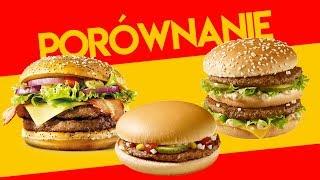 Porównujemy hamburgery z McDonald's [Klasyczny, Big Mac, Maestro] - HASZTAGI