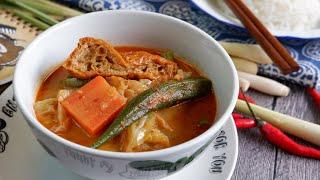 Super Easy Curry Vegetables Recipe 咖喱菜 Curry Chap Chye Recipe (Chap Cai) Chinese Vegetables