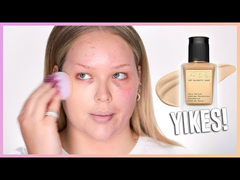 YIKES! The Most Boring 68$ Foundation EVER?? | NikkieTutorials
