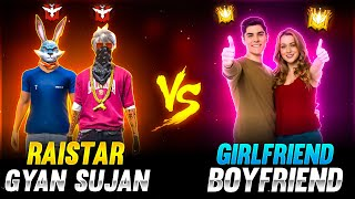 Raistar Challenge Girl Friend & Boy Friend | Who Will Win - Garena Free Fire