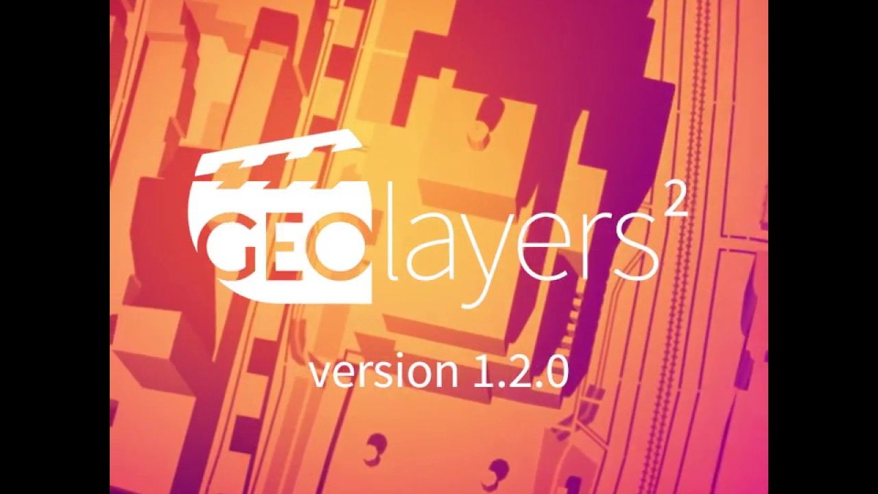 GEOlayers 2  New features in version 1 2 0