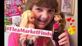 Flea Market Finds! 2004 MGA 4-Ever Best Friends Dolls Calista & Brianee Girl Party with Doll Review!