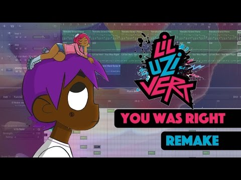 Making a Beat: Lil Uzi Vert - You Was Right (Remake)