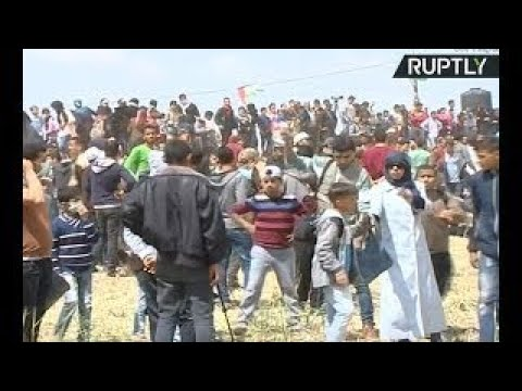 Massive rally in Gaza on Land Day
