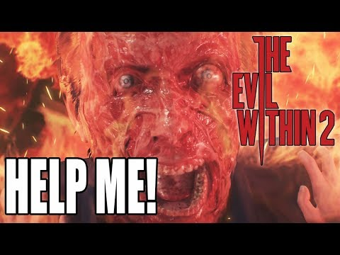 FIRST BOSS = RUN! The Evil Within 2 Rage! (#1)