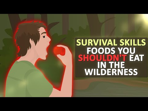 Foods you SHOULD NOT EAT in the WILDERNESS Survival Skills