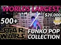 Worlds Largest Star Wars Funko Pop Collection