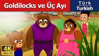 Goldilocks ve Üç Ayı - Masal - çoçuk masalları dinle - 4K UHD - Türkçe peri masallar