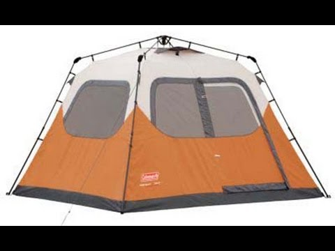6 Person Instant Tent | Coleman 2000010196 & 6 Person Instant Tent | Coleman 2000010196 - YouTube