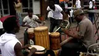 African drums Jazz in de Gracht 2008 The Hague