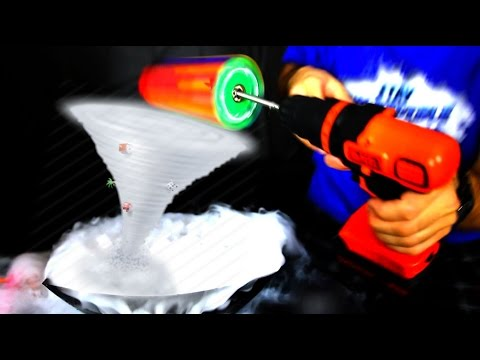 Thumbnail: HOW TO MAKE A TORNADO WITH DRY ICE AND FIDGET SPINNERS (Amazing DIY Spinner Trick)