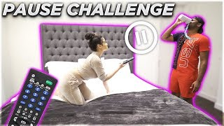 Download PAUSE CHALLENGE WITH GIRLFRIEND FOR 24 HOURS! *BAD IDEA* Mp3 and Videos