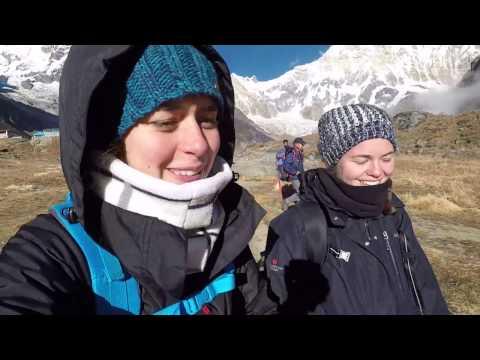 Annapurna Base Camp Trek, Nepal 2016 (GoPro)