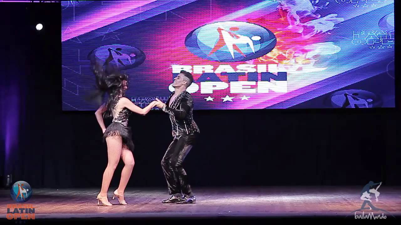 Baila Mundo - Vanessa Hariki e Paulo Felix (Brasil Latin Open 2016)