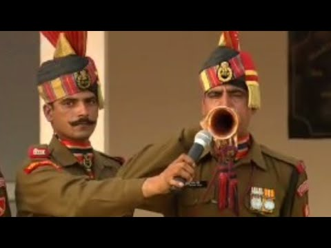 India-Pakistan border ceremony - BBC