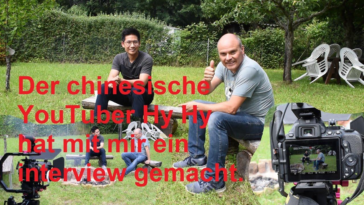 Wie ist das Interview des chinesische YouTuber Hy Hy mit mir entstanden.