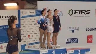 Анастасия Носова - выступление на Чемпионате мира (Новара, Италия, 2016)