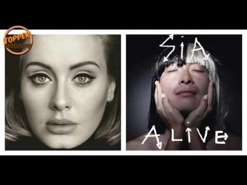 Adele vs Sia - Hello, I'm Alive