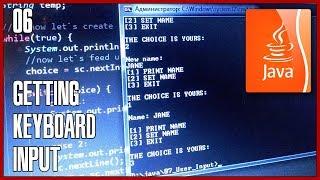 JAVA Tutorial 06 - How to get user input from keyboard via Scanner