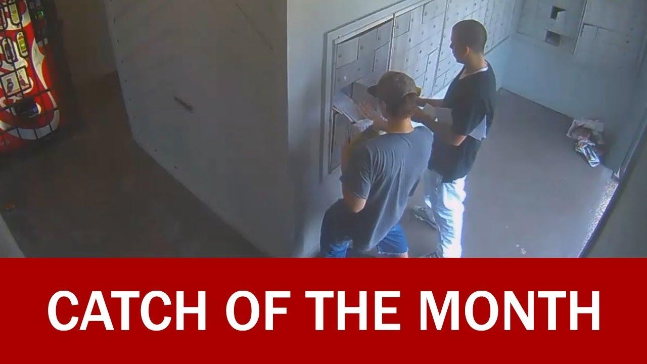 Houston Police Arrest Mail Thieves