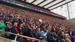 Flower of Scotland, Samoa v Scotland, St James's Park, Newcastle, Rugby World Cup 2015
