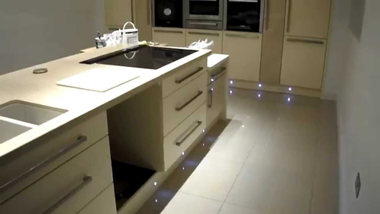 Etonnant Passionate About Tiling Polished Porcelain Kitchen Floor   YouTube