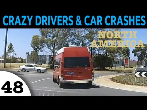 BAD DRIVERS AND ROAD RAGE NORTH AMERICA AND AUSTRALIA COMPILATION EPISODE 48