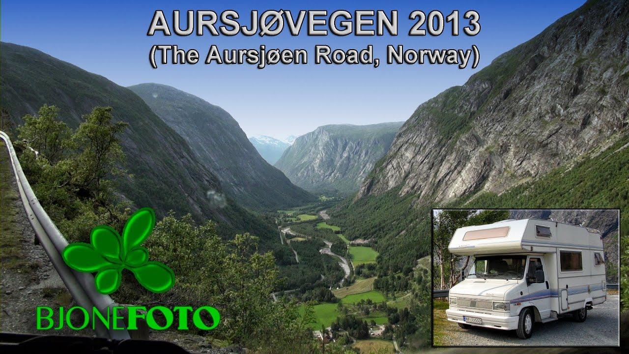 aursjøen kart Aursjøveien / The Aursjøen Road (Norway), July 12th 2013, dashcam  aursjøen kart
