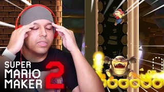 MOST STRESSFUL LEVEL I'VE EVER PLAYED, PERIODT! [SUPER MARIO MAKER 2] [#54]