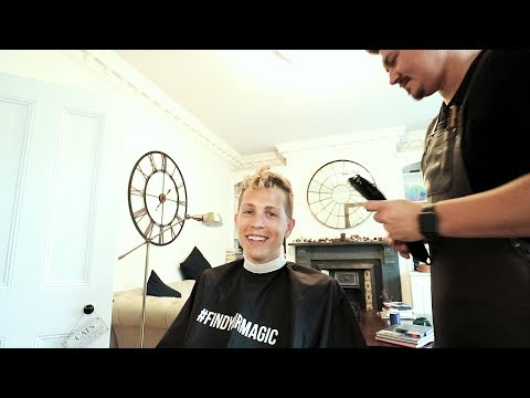 SKIN FADE FOR JAMES MCVEY OF THE VAMPS!!!