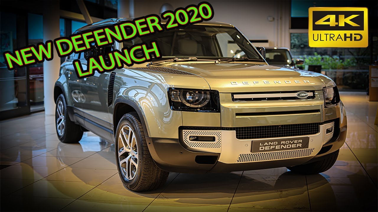 2020 New Defender 110 HSE D240 Launch